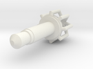 Dustplug Cage001 in White Strong & Flexible