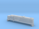 DJ Locomotive, New Zealand, (N Scale, 1:160) in Frosted Ultra Detail