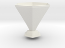 amy pond vase in White Strong & Flexible