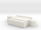 Ikea LILLABO M-M Connector 40mm in White Strong & Flexible