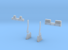 N-scale assessories for 250 ton Teeming Ladle in Frosted Ultra Detail