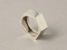 screw ring size 9,1/4 in White Strong & Flexible