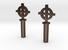 Celtic Cross #8-32 Thumbscrew 0.635