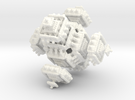 Menger Koch v2 in White Strong & Flexible Polished