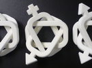 equivalent Borromean rings in White Strong & Flexible