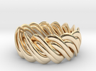 An Homage to Pi, The Ring in 14K Gold