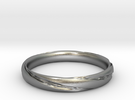 Hilbert's Ring in Raw Silver