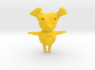 Moose in Yellow Strong & Flexible Polished