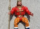 Replacement crown and spear for 1980s King Randor in White Strong & Flexible Polished