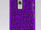 BlackBerry 9000 Maze Case in White Strong & Flexible Polished