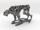 Robot Cheetah 50% in Polished Nickel Steel