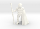 Dominion Arcanist (28mm scale) in White Strong & Flexible Polished