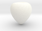 Textured Acorn in White Strong & Flexible Polished