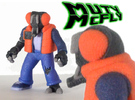 Muty McFly Parody Figure (Colored Sandstone) in Full Color Sandstone