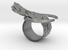 "The ""Bind"" ring in Raw Silver"