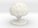 Mushroom Cloud in White Strong & Flexible