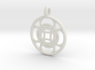 Kallichore pendant in White Strong & Flexible
