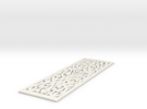 Intricacy  Bookmark in White Strong & Flexible