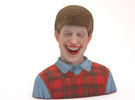 Bad Luck Brian in Full Color Sandstone