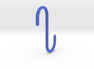 Hook for IKEA GRUNDTAL (17mm / 2.5mm) in Blue Strong & Flexible Polished