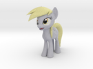 My Little Pony - Muffins - Derpy Eyes (≈65mm tall) in Full Color Sandstone
