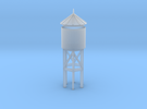 Miniature Railway Water Tower (HO Scale) in Frosted Ultra Detail