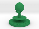 Life Counter - Tree in Green Strong & Flexible Polished
