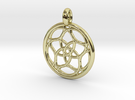 Himalia pendant in 18K Gold Plated