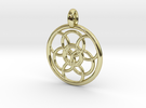 Lysithea pendant in 18K Gold Plated