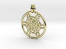 Helike pendant in 18K Gold Plated
