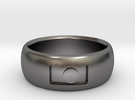 Photography Ring in Polished Nickel Steel