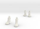 Dogfeet11 in White Strong & Flexible
