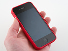 Luma3dprint iPhone Case in Red Strong & Flexible Polished
