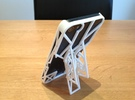 iPhone 5 Case with Flip Out Stands - TriStand Mini in White Strong & Flexible
