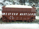 N scale WM H 31 Woodchip hopper extension 3 pack in Frosted Ultra Detail