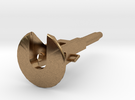 Coupler For D29 Pockets 1:34 in Raw Brass