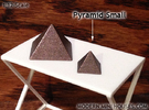 Pyramid Small in Matte Bronze Steel