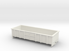 LC Wagon, New Zealand, (OO Scale, 1:76) in White Strong & Flexible