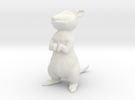 2 Inch Mouse in White Strong & Flexible