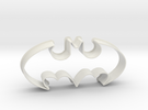 Batman 1998 - cookie cutter in White Strong & Flexible
