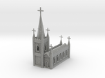 N Scale Church Cathedral 1:160