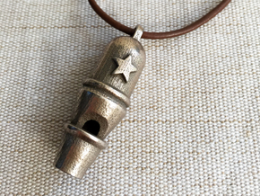 Dome Whistle in Stainless Steel