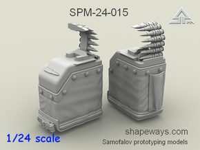 1/24 SPM-24-015 LBT MK48 Box Mag (middle) in Frosted Extreme Detail