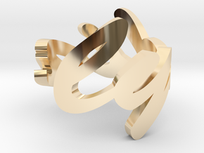 Lydia Ring in 14k Gold Plated