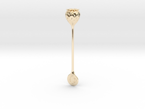 Caxton Rhode Strawberry Stirrer Precious Edition in 14K Gold