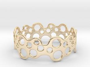 Bubbles Bracelet 75 in 14k Gold Plated