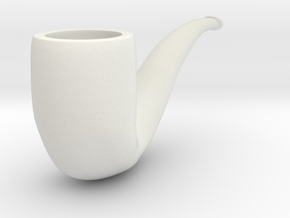 Pipe in White Strong & Flexible