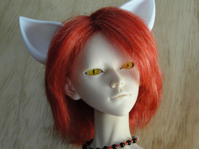 Fox Ears SD doll size in White Strong & Flexible