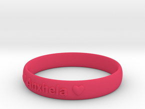 Bracelets 2 (Personalize as you wish) in Pink Strong & Flexible Polished