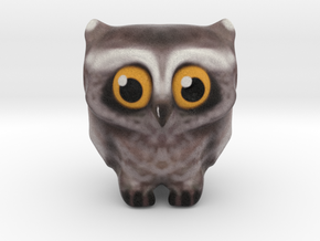 Owl messenger I love You  in Full Color Sandstone